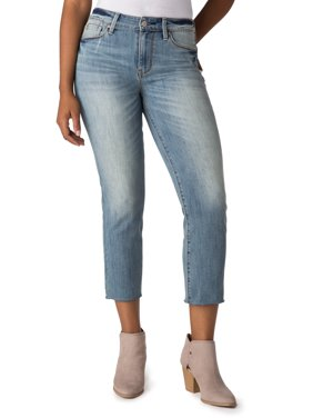 Signature by Levi Strauss & Co. Women's High Rise Slim Cropped Jeans