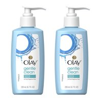 Olay Gentle Clean Foaming Face Cleanser for Sensitive Skin, 200 mL