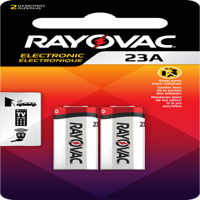 Rayovac Alkaline 23A Batteries, 2 Count