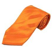 488edace66c Orange Solid Color Tonal Stripe Ties