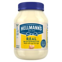 (2 Pack) Hellmann's Real Mayonnaise, 30 fl oz