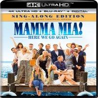 Mamma Mia: Here We Go Again 4K + Blu-ray + Digital