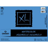 """Canson XL Watercolor 11"""" x 15"""" 30-Sheet Paper Pad"""
