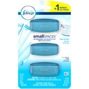 (2 pack) Febreze Small Spaces Air Freshener Refills, Linen & Sky, 6 count