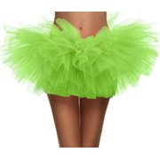 07a39d2475 Adult Dance Vintage 5 layer Ballet Tutu Skirt Great for Running and Races,  Royal Blue
