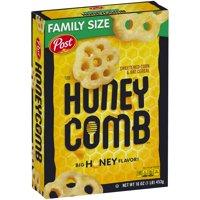 (2 Pack) Post Honey Comb Corn & Oat Breakfast Cereal, 16 Oz