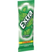 (3 Pack) Extra, Sugar Free Spearmint Chewing Gum, 3 Ct