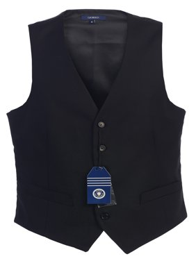 Mens 5 Button Formal Suit Vest, Size XS - 2X
