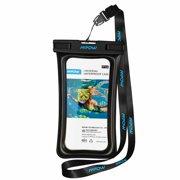 526de9e368 Mpow Floatable Waterproof Case, Dry Bag Cellphone Pouch for iPhone X/8/8