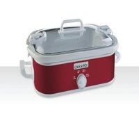 Crock-Pot Casserole Crock Slow Cooker, 3.5-Quart (SCCPCCM350-R)