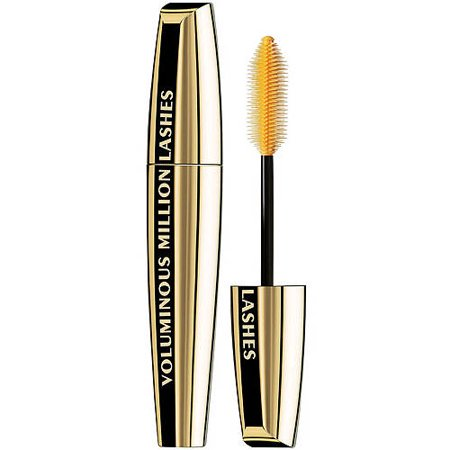 L'Oreal Paris Voluminous Million Lashes Mascara, Blackest Black, 0.3 fl. oz. - Mascara De Calabaza Para Halloween