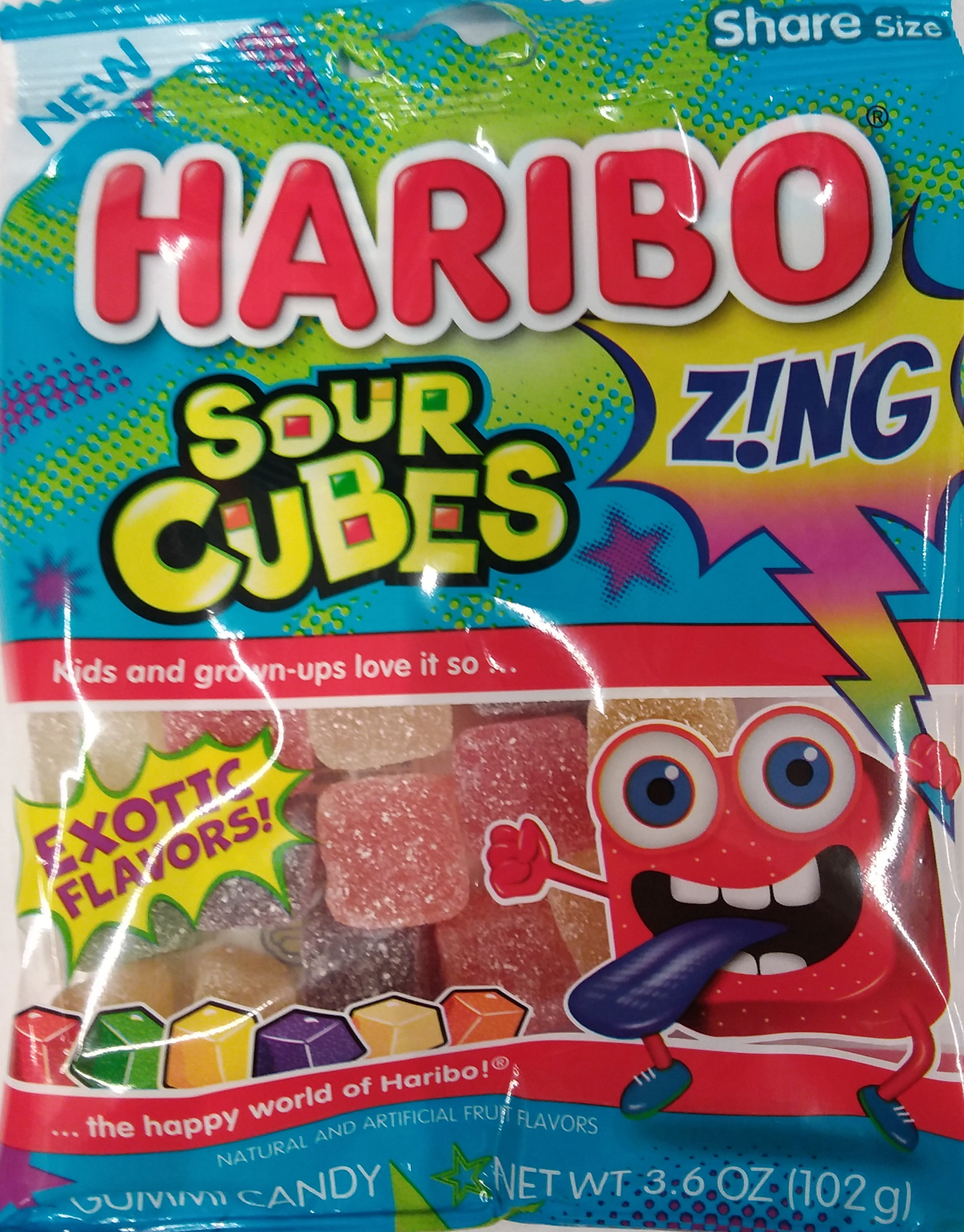 Haribo Confectionery Sour Cubes