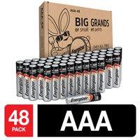 Energizer Max Powerseal Alkaline AAA Batteries, 48 Pack