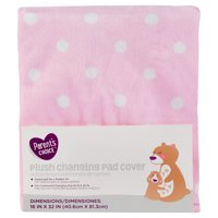 Parent's Choice Changing Pad Cover, Pink Dot