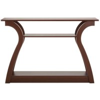Best Choice Products 47in 3-Shelf Modern Decorative Console Accent Table Furniture for Entryway, Living Room - Brown