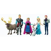 Disney Frozen Small Doll Complete Story Set