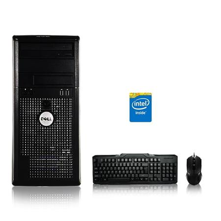 25g Tower (Refurbished - Dell Optiplex Desktop Computer 2.9 GHz Core 2 Duo Tower PC, 4GB, 500GB HDD, Windows 10 x64, Office 365 Essentials, USB Mouse & Keyboard )