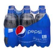 Pepsi Cola 6-16 fl. oz. Bottles