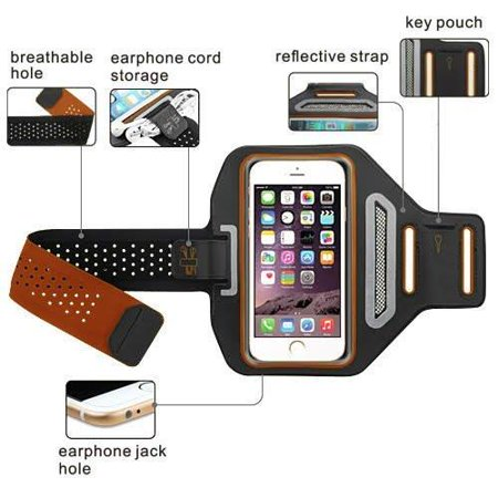 iPod Touch 6th Gen Case, Touch 5 Gen Case, Coverlab Multifunctional Outdoor Sports Armband Casual Arm Package Bag Cell Phone Bag Key Holder For iPod iTouch 5/iTouch 6 -
