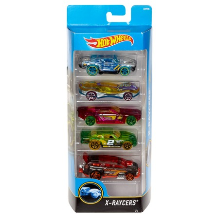 Hot Toys Seal (Hot Wheels 5-Car Collector Gift Pack (Styles May Vary) )