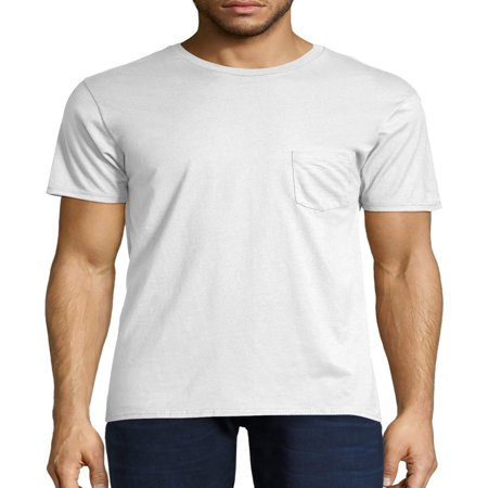 - Hanes Men's nano-t short sleeve pocket tee