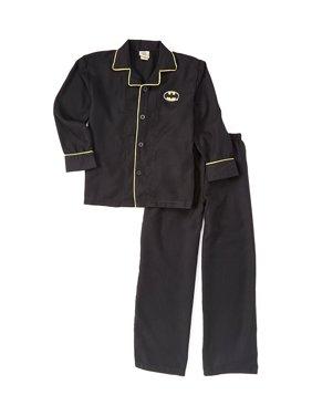 Boys' Coat Front 2 Piece Pajama Sleep Set