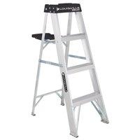 Louisville Ladder 4-foot Aluminum Stepladder, 250-Pound Capacity, Type I, W-2112-04S