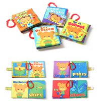 Mosunx New Cloth Book Baby Kids Boys Girls Intelligence Development Educational Toys