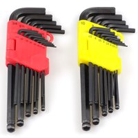 Product Image Felji 26pc Allen Ball Point End Long Arm Hex Key Wrench