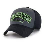 03b73065 NFL Seattle Seahawks Blackball Script Adjustable Cap/Hat by Fan Favorite
