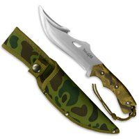Yes4All Hunting Survival Fixed Blade Knife / Tactical Knife with Sheath – Full Tang Camping Knife Set – Hunting Dagger Knife / Tactical Dagger – H103