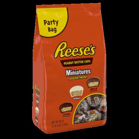 Reese's Peanut Butter Miniatures Assortment Chocolate Candy, 36 Oz.