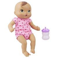 Baby alive luv n snuggle baby - brown hair