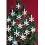Beadery Craft Ornament Kit Mini Snowflakes