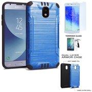 Phone Case for Verizon Prepaid Samsung Galaxy J3 Mission-2, J3 Orbit Case Brush