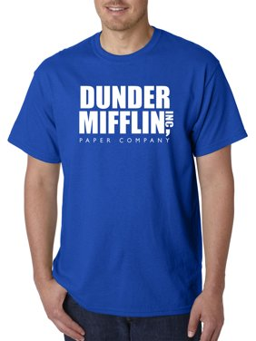 Product Image New Way 872 - Unisex T-Shirt Dunder Mifflin Inc Paper Company  Office Logo Large fd52660843
