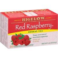 (3 Boxes) Bigelow, Red Raspberry, Tea Bags, 20 Ct