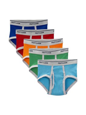 Assorted Fashion Briefs, 5 Pack (Toddler Boy)