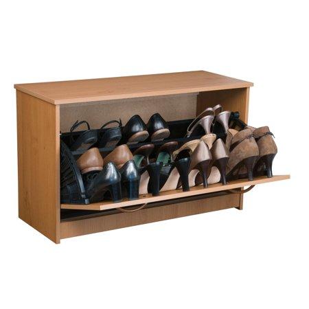 Shoe Cabinet, Single, Oak ()