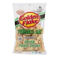 Golden Flake Vinegar & Salt Fried Pork Skins, 3.25 Oz.