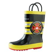05d63b52b Oakiwear Kids Rain Boots For Boys Girls Toddlers Children
