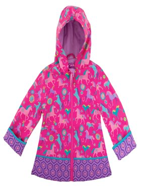 All Over Print Raincoat, Horse