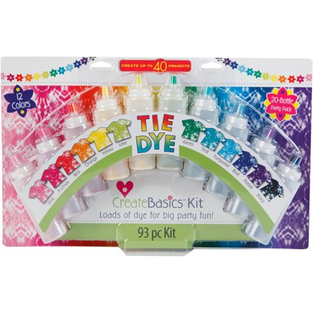 Create Basics Tie Dye Party Kit, 20 - Tie Dye Bottles
