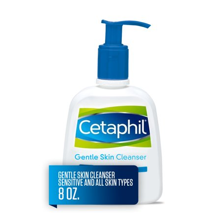 Cetaphil Gentle Skin Cleanser, Face Wash For Sensitive and All Skin Types, 8