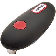 Farberware Black and Red Hands-Free Battery-Operated Can Opener