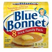 BLUE BONNET Vegetable Oil Spread Family Pack, 8 Sticks, 2 lb.