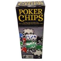 100-Piece Poker Chip Set