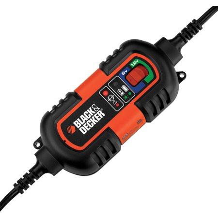 - BLACK+DECKER BM3B 6V and 12V Battery Charger/Maintainer (BM3B)