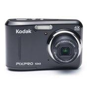 KODAK PIXPRO FZ43 Compact Digital Camera - 16MP 4X Optical Zoom HD 720p Video (Black)
