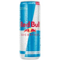 Red Bull Sugarfree Energy Drink, 12 Fl Oz, 24 Count